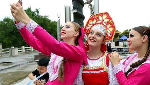 大量俄罗斯姑娘进入中国,为了抢购这几样东西,直言:太值了