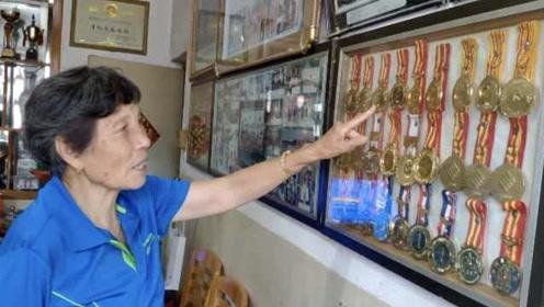 80岁奶奶从45岁开始跑步,拿下119枚金牌,曾破世界纪录