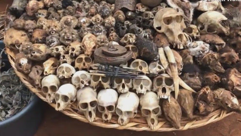 世间罕见!将动物骨骸缝入人体治病 整个市场横尸遍野