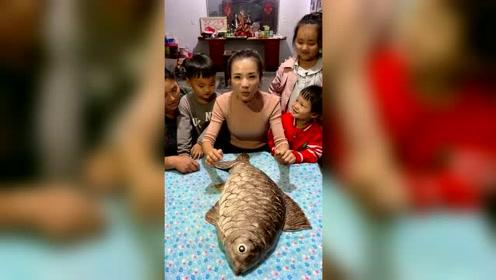 这条鱼里面的惊喜太多了,小孩都抢着吃!