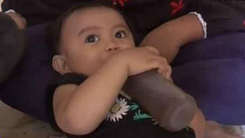 买不起奶粉,印尼父母给6个月婴儿喝咖啡
