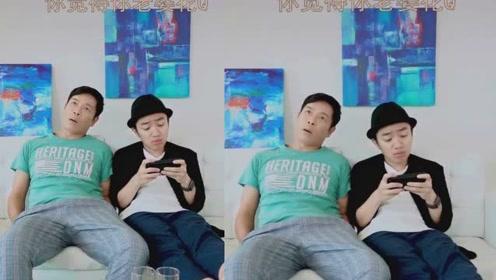 王祖蓝与郭晋安两人在一起讨论家庭地位,你觉得你老婆花钱厉害吗