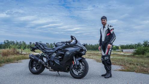 《宏義的摩托》川崎H2SX,摩托车里的超跑旅行车!