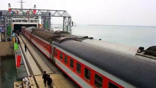 广州到海南的火车还有铁轨,那到底是怎么过海的?看完不得不服!