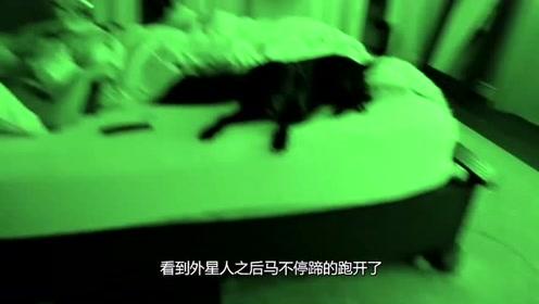女友睡醒发现旁边是外星人,直接摔下了床?网友:这下完蛋了!