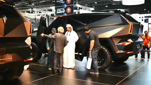 最强国产SUV!售价1200万,全球限量十台,迪拜王子有一台