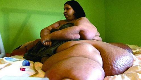 女子重1000多斤,被丈夫抛弃后减掉800斤,如今变成大美女