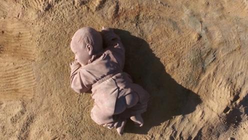 """发生了啥?甘肃沙漠沉睡神秘""""巨婴"""",时间长达一年被称大地之子"""