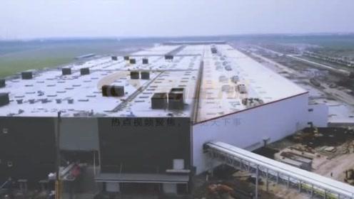 航拍特斯拉上海超级工厂,Model3新车型引发猜测