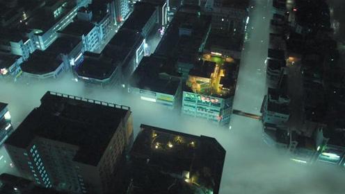 韩国灾难大作!有毒气体覆盖地表,人类吸入即死只能楼顶苟活