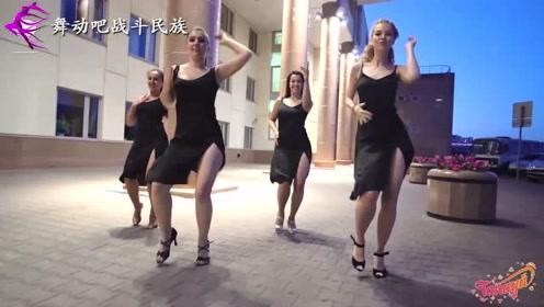 绝代芳华!欧洲拉丁舞老师的舞姿充满了女人味