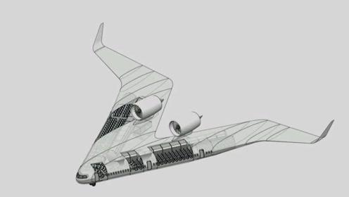 回旋镖飞机?让乘客坐在机翼上,未来能投入商用?