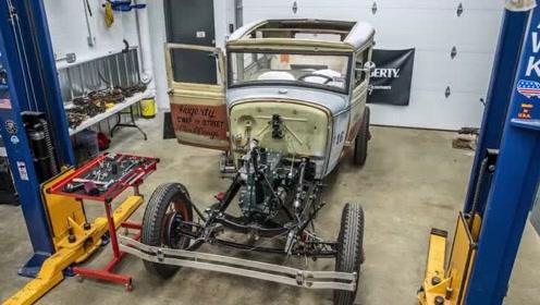如何一步步修复一辆福特老车Ford Model A 4