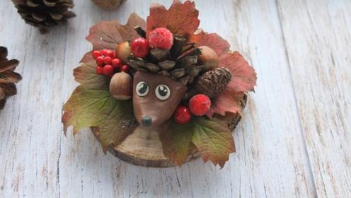 创意手工DIY,动物装饰小摆件的制作方法,又萌又可爱!