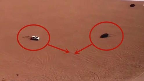 司机沙漠上飙车,这技术还是以为是个王者,结果悲剧了