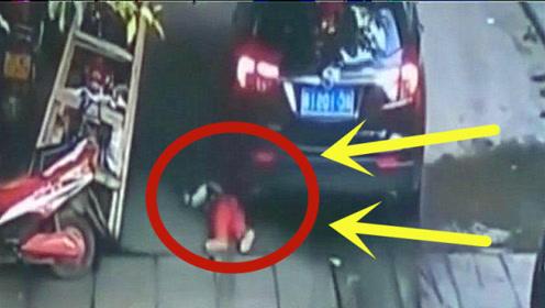 幼童独自跑到马路上玩耍,下一秒悲剧发生,成为家人一生的痛!
