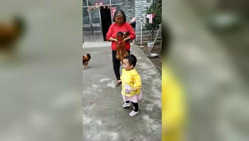 跳广场舞的宝宝,未来舞星