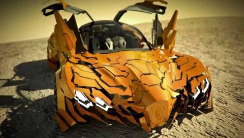 超炫酷的跑车,可迅速裂变成小碎片,放在国内敢让你开?