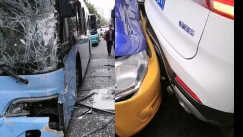 警情通报:湖北荆门发生公交车追尾事故 4车受损 23人轻微伤