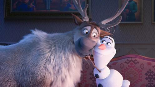 《冰雪奇缘2》雪宝出镜抢戏,被吓夺命狂奔超搞笑!