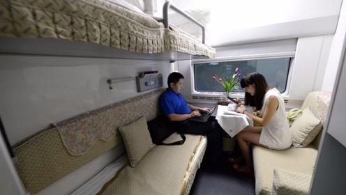 火车的软卧比硬卧贵那么多,到底有什么区别?坐硬座的我好羡慕