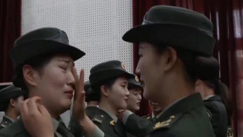 255名仪仗兵离队前24小时,女兵这一幕让人抹泪