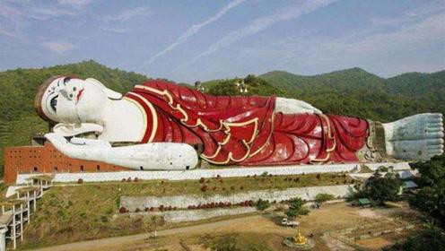 """最""""诡异""""的佛像,面无表情地躺着,晚上都敢看第二眼!"""