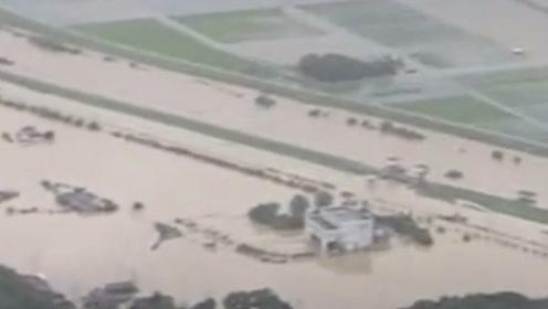 海贝斯引发日本多地洪水  福岛核污染物被洪水冲走
