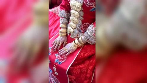 唉呀妈呀,婚结早了,这是哪里的结婚习俗呢?