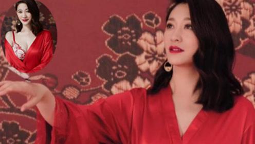 """李小冉时隔6年 再次代言内衣 身材不输当年 尽显""""尤物""""之美"""