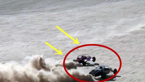 """沙漠里的""""速度与激情"""",各种改装车沙漠狂飙,太过瘾了"""
