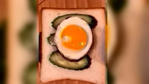 上班着急不要怕,教你做简单又省事的早餐三明治,家人吃不够
