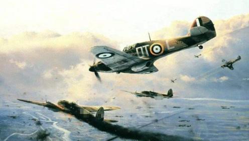"""二战""""不列颠空战""""!英国飞机数量1比2血拼德机,战况让人泪目"""