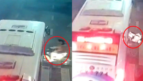 女子骑电动车带人闯红灯酿车祸!监控下两女子被撞飞后又被压车底