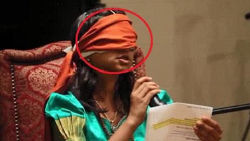 """印度一女孩竟出现""""第三只眼"""",声称能看到不一样的东西,被村民奉为神明!"""