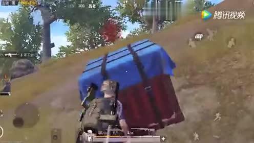 刺激战场:空投砸到头上!会把玩家砸死吗?实验给你答案