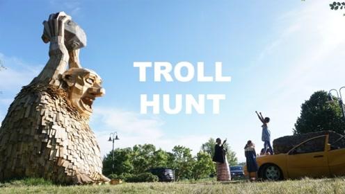 """丹麦的""""米开朗基罗"""",用木板和废料制作出巨人形象,简直大爱了"""