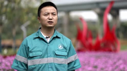 """我们准备好了!武昌城管人为武汉军运会呈上""""精致武昌""""。"""