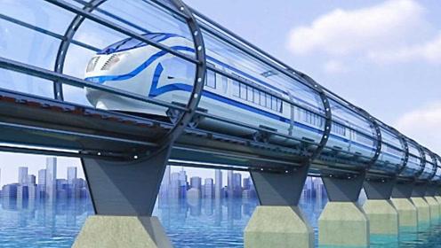 """比音速还快!我国研发""""超级高铁"""",最高时速可达4000公里"""