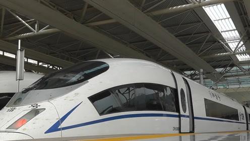 美女土豪到中国游玩,乘坐高铁后的反应亮了,网友:厉害了我的国