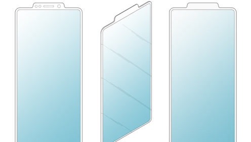 反刘海手机即将来袭?三星手机屏幕设计新专利曝光