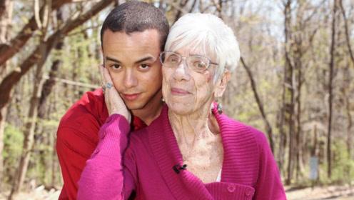 31岁小伙娶91岁富婆,自称是遇上真爱!网友:信了你的邪