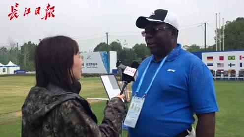 津巴布韦男子高尔夫球队领队:时隔21年再访武汉,城市更美了