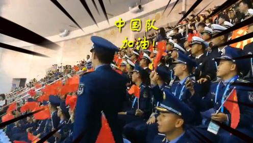 """军运会""""最强应援团"""" 兵哥哥口号整齐喊出军人气势"""