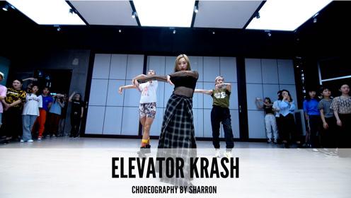 舞邦 Sharron 课堂视频 Elevator krash