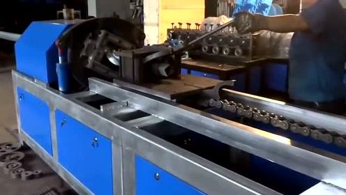 加工钢管如同拧麻花,这异形管加工真是太有意思了