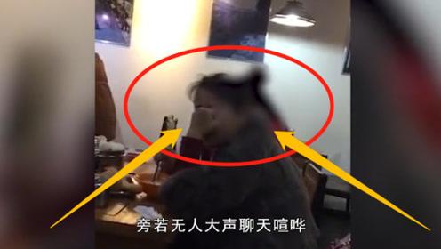"""早餐店内两女子""""爆粗口"""", 路人劝阻反被怼,真是不要脸!"""