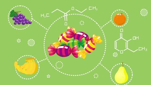 水果糖为什么会有水果的香味?