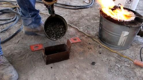 铅是怎么从石头变成铅的?看小哥是怎么样做的