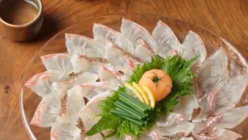 体型巨大的皇家鲷鱼,被日本人做成刺身,网友:暴殄天物!